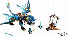 LEGO 70602 Jay's Elemental Dragon - Лего Дракон Джея