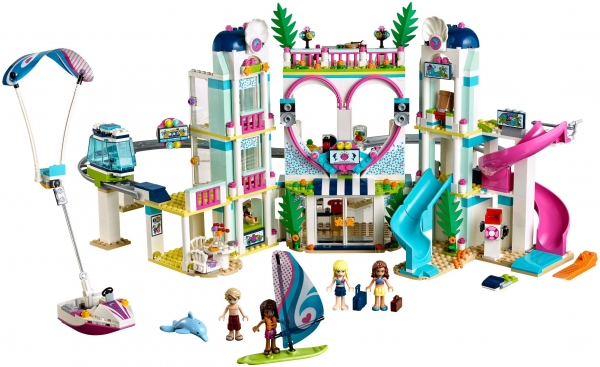 LEGO 41347 Heartlake City Resort - Лего Курорт Хартлейк-Сити
