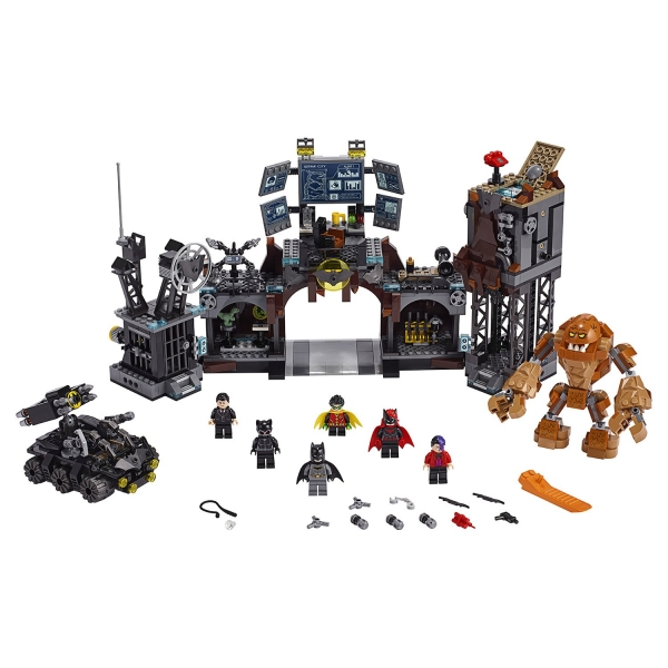 LEGO 76122 Batcave Clayface Invasion - Лего Супер Герои Вторжение Глиноликого в бэт-пещеру