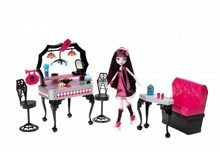Набор  Школа Монстров Ресторан у Дракулауры Монстер Хай (Monster High Die-Ner and Draculaura) Y7719 Mattel