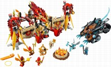 LEGO 70146 Flying Phoenix Fire Temple - Лего Огненный летающий Храм Фениксов